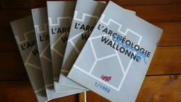 CHRONIQUE DE L'ARCHEOLOGIE WALLONNE. 5 N°. - Boeken, Tijdschriften, Stripverhalen