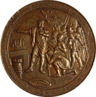 ESPAÑA. ALFONSO XIII. MEDALLA IV CENTENARIO DEL DESCUBRIMIENTO DE AMÉRICA. 1.892. ESPAGNE. SPAIN MEDAL - Monarquía/ Nobleza
