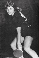 Tennis De Table - Brigitte Thiriet, Pongiste, Championne De France - Sportifs