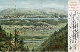 004138  Blick Vom Fürstenbrunnen Am Goldeck Auf Spittal A. Dr. Und Den Millstätter See  1903 - Spittal An Der Drau