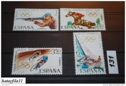 Italien 1968 Mi. 1777 - 1780  ** ( MNH ) Postfrisch  ( 131 ) - 1961-70 Unused Stamps