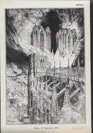 MILITARIA TYPE GRAVURE MILITAIRE REIMS 1914 : - 1914-18