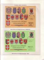 """Lotto 2 MAXIMUM/4 AUSTRIA """"976-1976 -- 1000 ANNI NASCITA DELL'AUSTRIA """".pg64 - Collections"""