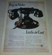 Téléphone - Coûts (Publicité) - Advertising
