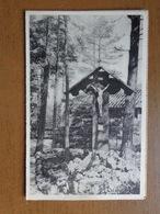 Banneux ND, Croix érigée Dans Le Parc Des Piscines --> Onbeschreven - Sprimont