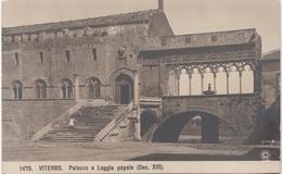 Viterbo. Palazzo E Loggia Papale (Sec. XIII) - Viterbo