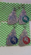 Medaille / Medal - Medaille  Nederland  -  4 X Twentse Ros Tochten -Hengelo W V - Sports