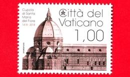 Nuovo - MNH - VATICANO - 2018 - 600 Anni Della Cupola Di S.Maria Del Fiore -  Basilica Di S.Maria A Firenze - 1.00 - Vatican