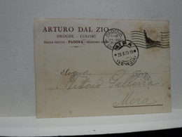 PADOVA  ---    ARTURO DAL ZIO  -- DROGHE E COLORI - Padova (Padua)
