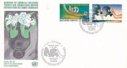 UNITED NATIONS INTERDICTION DES ARMES CHIMIQUES GINEVRA ANNO 1991 - Protezione Dell'Ambiente & Clima