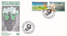 UNITED NATIONS INTERDICTION DES ARMES CHIMIQUES VIENNA ANNO 1991 - Protezione Dell'Ambiente & Clima