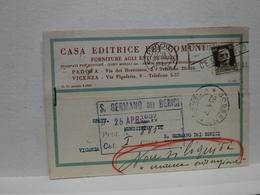 PADOVA  ---   CASA  EDITRICE DEI COMUNI - Padova (Padua)