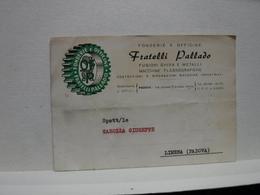 PADOVA  ---   FRATELLI PALLADIO --OFFICINE FONDERIE - Padova (Padua)