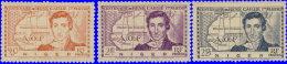 Niger 1939. ~ YT 64 à 66** - René Caillé - Unused Stamps