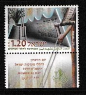 ISRAEL, 1999, Mint Never Hinged Stamp(s), Memorial Day., M1514,  Scan 17146, With Tab(s) - Unused Stamps (with Tabs)