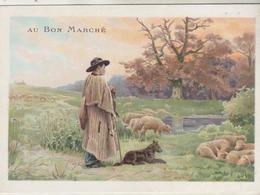 Chromo - AU BON MARCHE - - Au Bon Marché