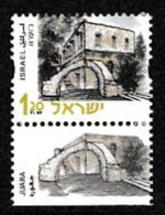 ISRAEL, 2000, Mint Never Hinged Stamp(s), Buildings & Historic Sites,  M 1561, Scan 17167, With Tab(s) - Israel
