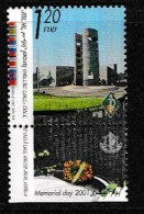 ISRAEL, 2001, Mint Never Hinged Stamp(s), Memorial Day,  M 1621, Scan 17180, With Tab(s) - Israel