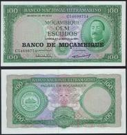 Mozambique P 117 - 100 Escudos ( 1976 ) - AUNC - Mozambique