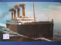 """Télécarte Amerique """"le Titanic"""" - Schede Telefoniche"""
