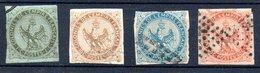 Colonies Générales Allgemeine Kolonialausgaben Y&T 1°, 3°, 4°, 5° (zweite Wahl) - Aigle Impérial