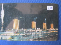 "Télécarte Amerique ""le Titanic"" - Telefoonkaarten"