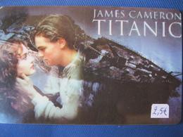 """Télécarte Amerique """"le Titanic"""" - Telefonkarten"""