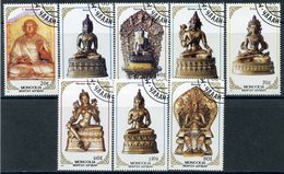 Y85 MONGOLIA 1988 1982-1989 Religious Sculptures. Religion. Culture. - Buddhism