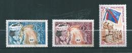 Timbres De Polynésie De 1964 N°27 A 29 Neufs **  Cote 14€30 - French Polynesia
