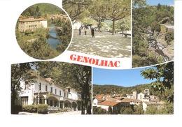 Génolhac (Alès-Gard)-1999-Multivues-Pont De Rastel-Place Du Colombier-Hôtel Du Mont Lozère-L'Homol - Alès