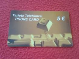 ANTIGUA TARJETA TELEFÓNICA PHONE CARD ESPAÑA SPAIN ESPAGNE ? INS HELP TECLADO 5 EUROS VER FOTO/S Y DESCRIPCIÓN IDEAL COL - Espagne