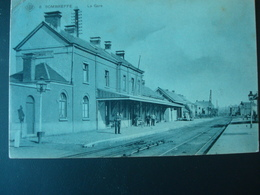 SOMBREFFE : La Gare En 1908 - Sombreffe