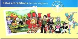 C26 - FRANCE N° C566 FETES ET TRADITIONS DE NOS REGIONS - Markenheftchen