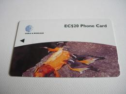 TELECARTE DOMINICA EC$20 PHONE CARD - Dominicana