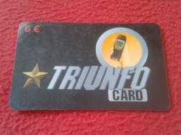 RARA ANTIGUA TARJETA TELEFÓNICA PHONE CARD ESPAÑA SPAIN ESPAGNE TRIUNFO CARD TRIUNFOCARD TERRA ? TELÉFONO VER FOTO/S Y D - Espagne