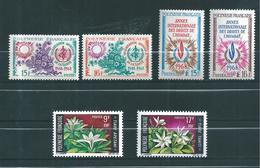 Timbres De Polynésie De 1968/69  N°60 A 65 Neufs **  Cote 57€70 - French Polynesia