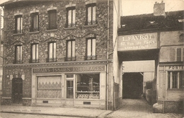 Cpa Sannois Maison Favrot 47 Rue De Paris - Sannois