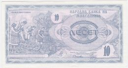 Macedonia P 1 - 10 Denar 1992 - UNC - Macedonia