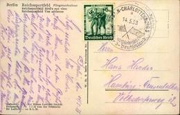 1938, Fussball-Länderspiel ENGLAND-DEUTSCHLAND, Ak Reichssportfeld - Football