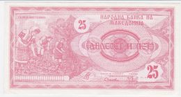 Macedonia P 2 - 25 Denar 1992 - UNC - Macedonia