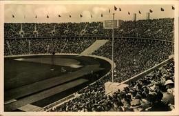 """1936, Reichssportfeld  """"Deutsche Kampbahn"""" (Olympiastadion - AK Ungebraucht - Summer 1936: Berlin"""