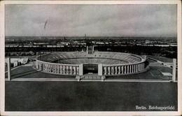 "1936, Reichssportfeld  ""Deutsche Kampbahn"" (Olympiastadion - AK 1942 Al Feldpost - Summer 1936: Berlin"