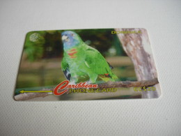 TELECARTE DOMINICA  AMAZONA AURAUSICA 225CDMA013065 - Dominica