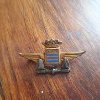 Insigne Porte Avion Dixmude - Marine