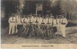 MONTENAU - Radlerklub-Vorwärtz  1930 - Amel