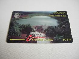 TELECARTE DOMINICA FRESH WATER LAKE 6COMB020577 - Dominica