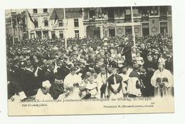 Lebbeke   *  Luisterrijke Jubelfeesten - Plechtigheid Der Kroning, 10 Mei 1908 - Het Kroningslied - Lebbeke