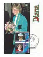 Lot De 15 Cartes Premier Jour  -  Fédération De Russie  -  Princesse Diana - Familles Royales