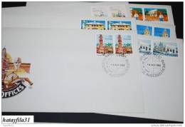 Australien 1982 Fdc Satz  - Historic Post Offices - ( T - 45 ) - FDC