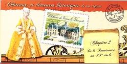 C32 - FRANCE N° BC726 CHATEAUX ET DEMEURES HISTORIQUES - Commemoratives